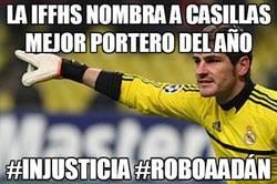 Enlace a La IFFHS nombra a Casillas mejor portero del año