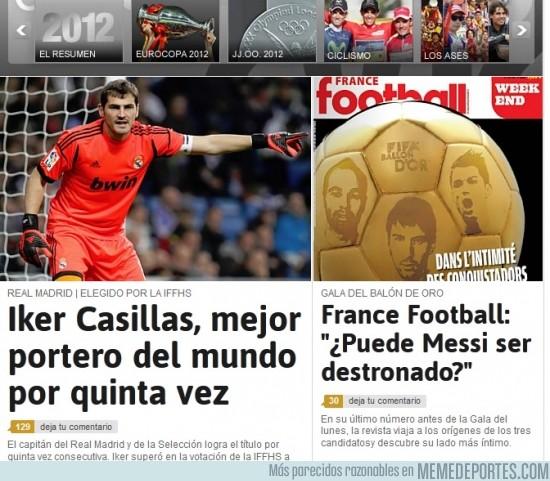 62229 - Iker pide el Balón de Oro