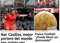 Enlace a Iker pide el Balón de Oro