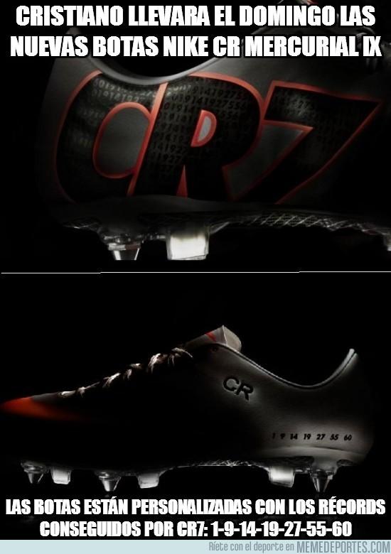 62338 - Las botas de CR7 para el domingo