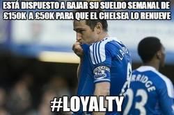 Enlace a Frank Lampard, ejemplo de lealtad