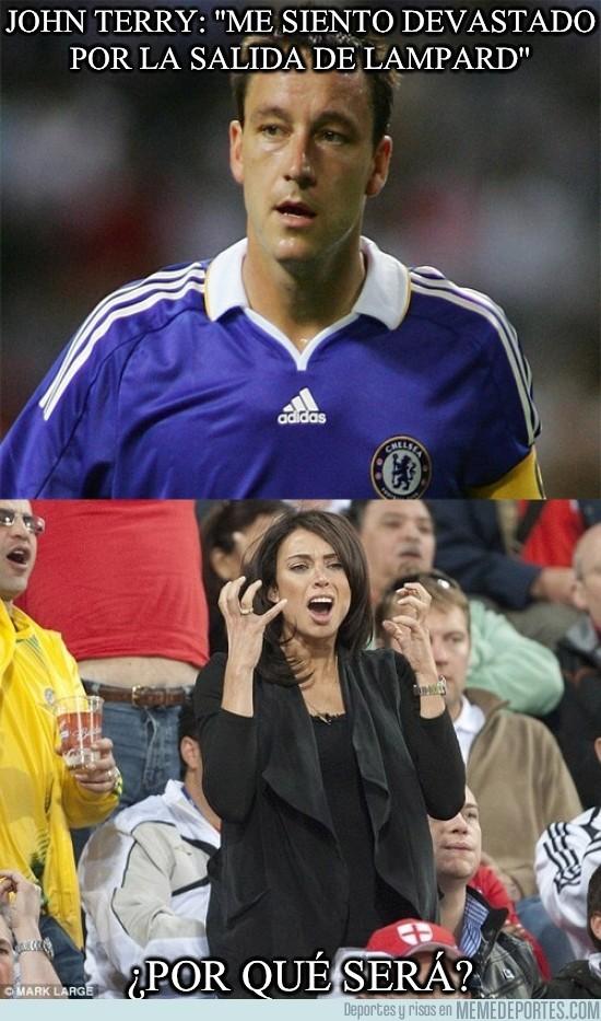 62675 - John Terry: ''Me siento devastado por la salida de Lampard''