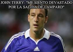 Enlace a John Terry: ''Me siento devastado por la salida de Lampard''
