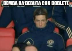 Enlace a Demba Ba debuta con doblete