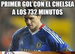 Enlace a Primer gol con el Chelsea a los 732 minutos