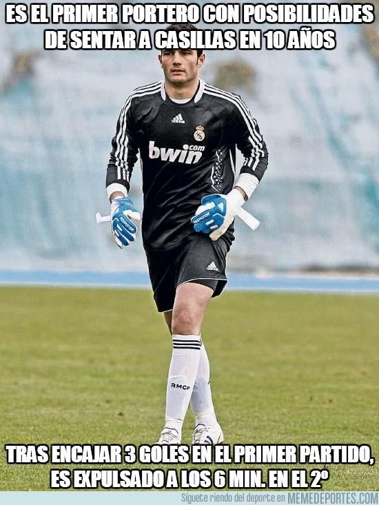 63407 - Es el primer portero con posibilidades de sentar a Casillas en 10 años