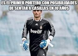 Enlace a Es el primer portero con posibilidades de sentar a Casillas en 10 años