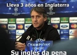 Enlace a El brillante inglés de Mancini
