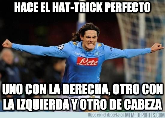 63915 - Hace el hat-trick perfecto