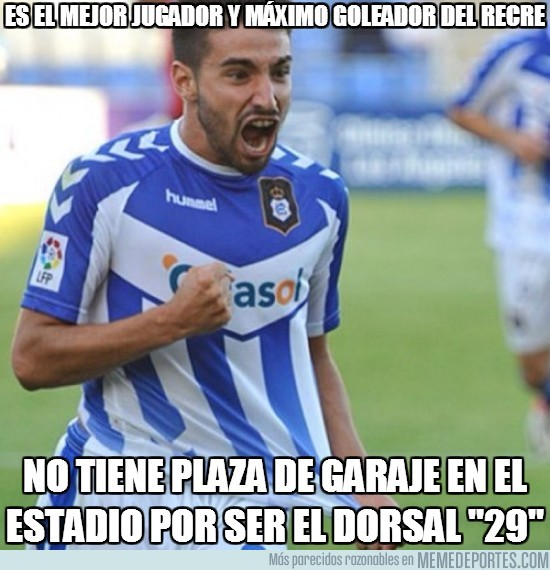 64672 - Es el mejor jugador y máximo goleador del Recre