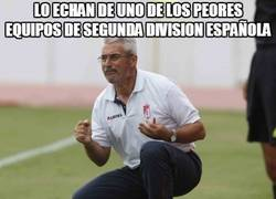 Enlace a Lo echan de uno de los peores equipos de segunda division española