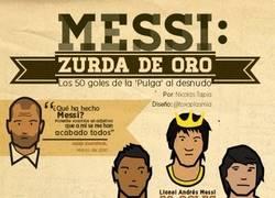 Enlace a Messi zurda de oro