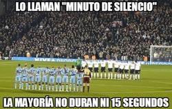 Enlace a El ¿minuto? de silencio