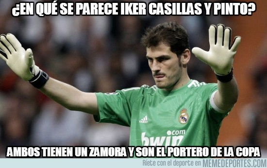 65365 - ¿En qué se parece Iker Casillas y Pinto?