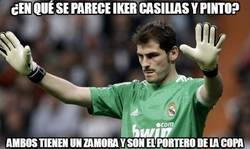 Enlace a ¿En qué se parece Iker Casillas y Pinto?