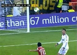 Enlace a GIF: Súper pase de Luka Modrić para el segundo gol de Cristiano Ronaldo vs Celta de Vigo