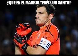 Enlace a ¿Que en el Madrid tenéis un Santo?