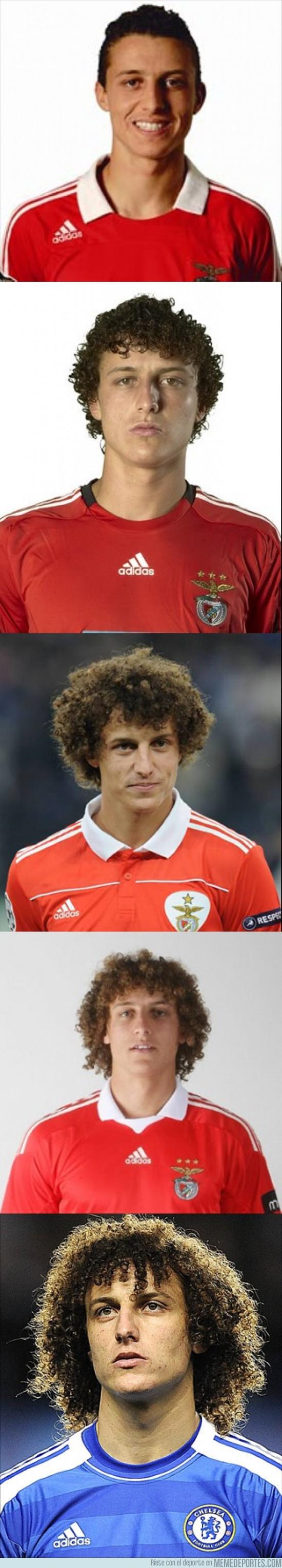 66623 - Evolución del peinado de David Luiz