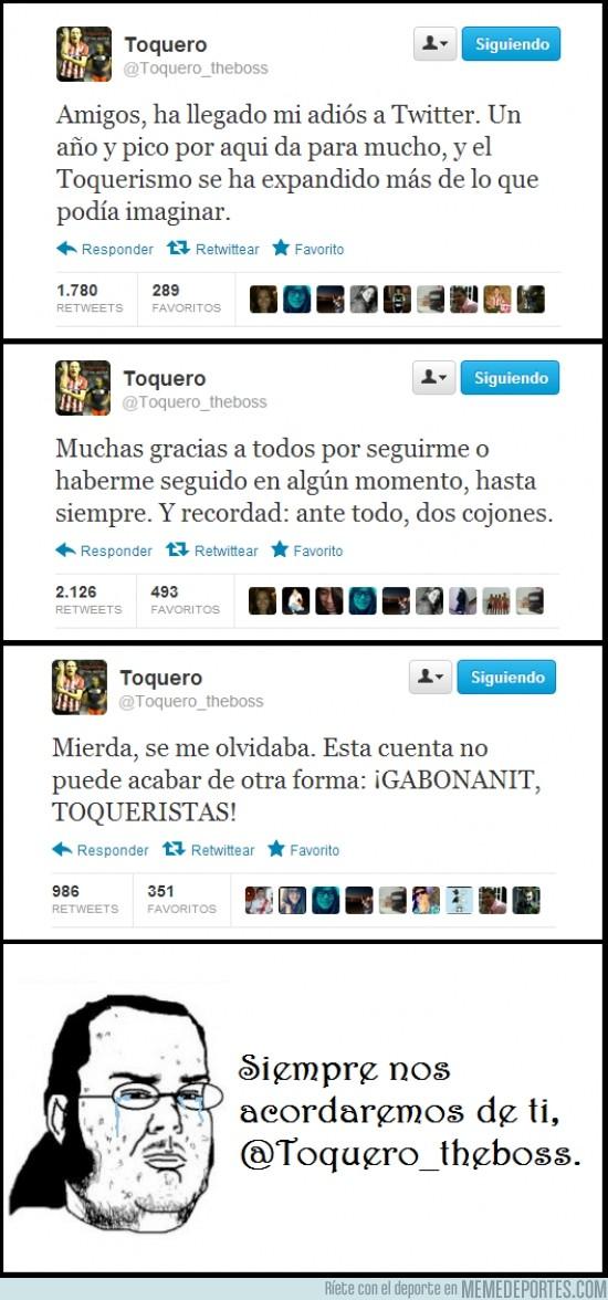 66810 - @Toquero_theboss se despide de Twitter