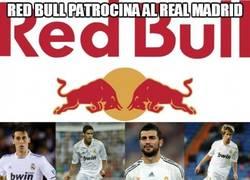 Enlace a Redbull patrocina al Real Madrid