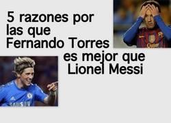 Enlace a Según como lo mires, Torres es mejor que Messi