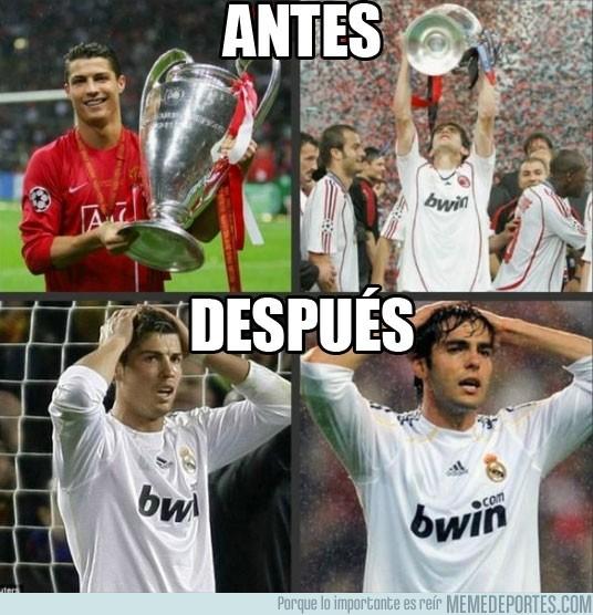 67904 - Kaka y Cristiano Ronaldo, antes y después del Real Madrid