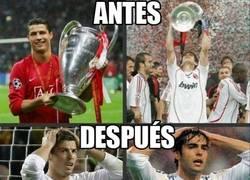 Enlace a Kaka y Cristiano Ronaldo, antes y después del Real Madrid