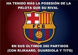 Enlace a El Barça, siempre dueño de la pelota