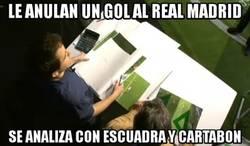 Enlace a Cuando al Real Madrid le anulan un gol
