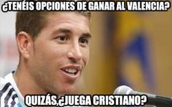 Enlace a ¿Tenéis opciones de ganar al Valencia?