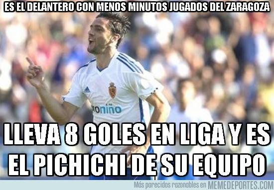 68362 - Es el delantero con menos minutos jugados del Zaragoza