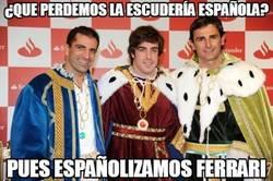 Enlace a ¿Que perdemos la escudería española?