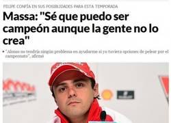 Enlace a Massa se ve campeón