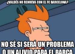 Enlace a ¿Valdés no renueva con el FC Barcelona?