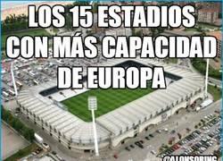 Enlace a Estadios con más capacidad de Europa
