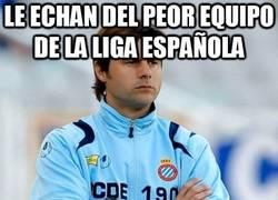 Enlace a Le echan de un equipo que estaba en descenso de la liga española