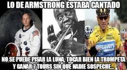 Enlace a Lo de Armstrong estaba cantado