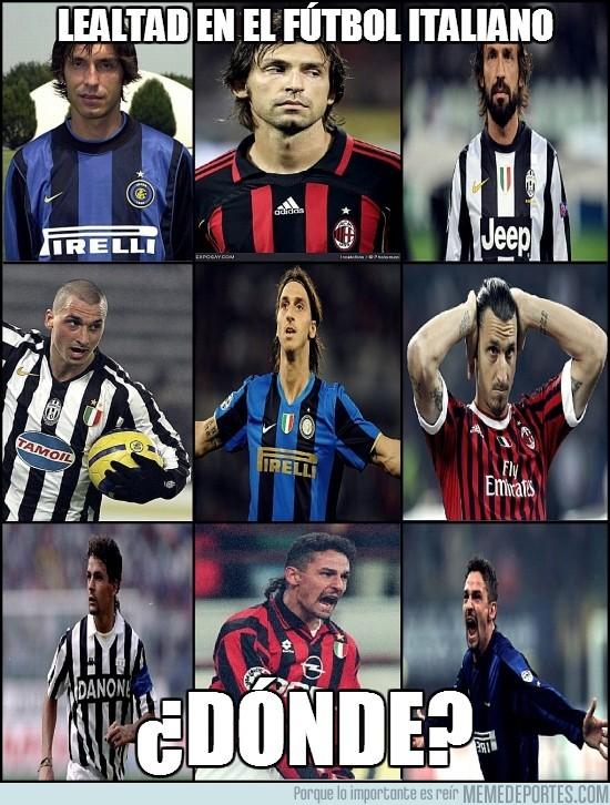 70260 - ¿Lealtad en el fútbol italiano?
