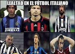 Enlace a ¿Lealtad en el fútbol italiano?