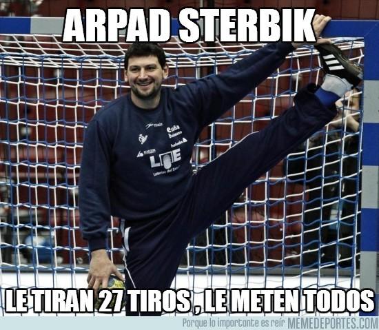 70312 - ¡Arpad Sterbik, porterazo!