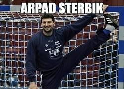 Enlace a ¡Arpad Sterbik, porterazo!