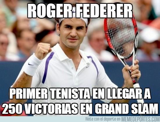 70319 - Roger Federer, elegancia también rompiendo récords