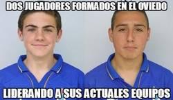 Enlace a Mata y Cazorla: dos jugadores formados en el Oviedo