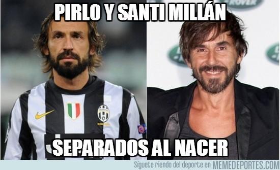 70684 - Pirlo y Santi Millán
