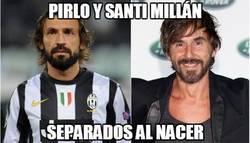 Enlace a Pirlo y Santi Millán