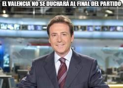 Enlace a El Valencia no se duchará al final del partido