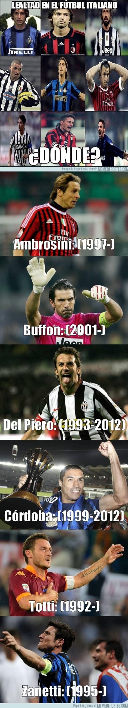 70946 - La verdadera lealtad del Calcio