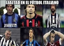 Enlace a La verdadera lealtad del Calcio