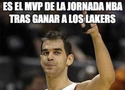 Enlace a Es el MVP de la jornada NBA tras ganar a los Lakers