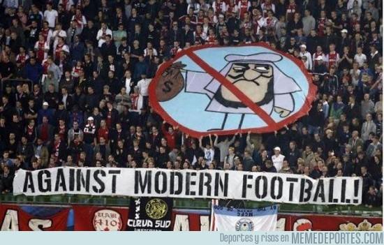 71316 - Odio eterno al fútbol moderno, ¡fuera jeques!